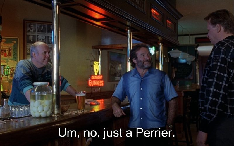 Guinness Beer Sign And Perrier Water (Quotes) – Good Will Hunting (2)