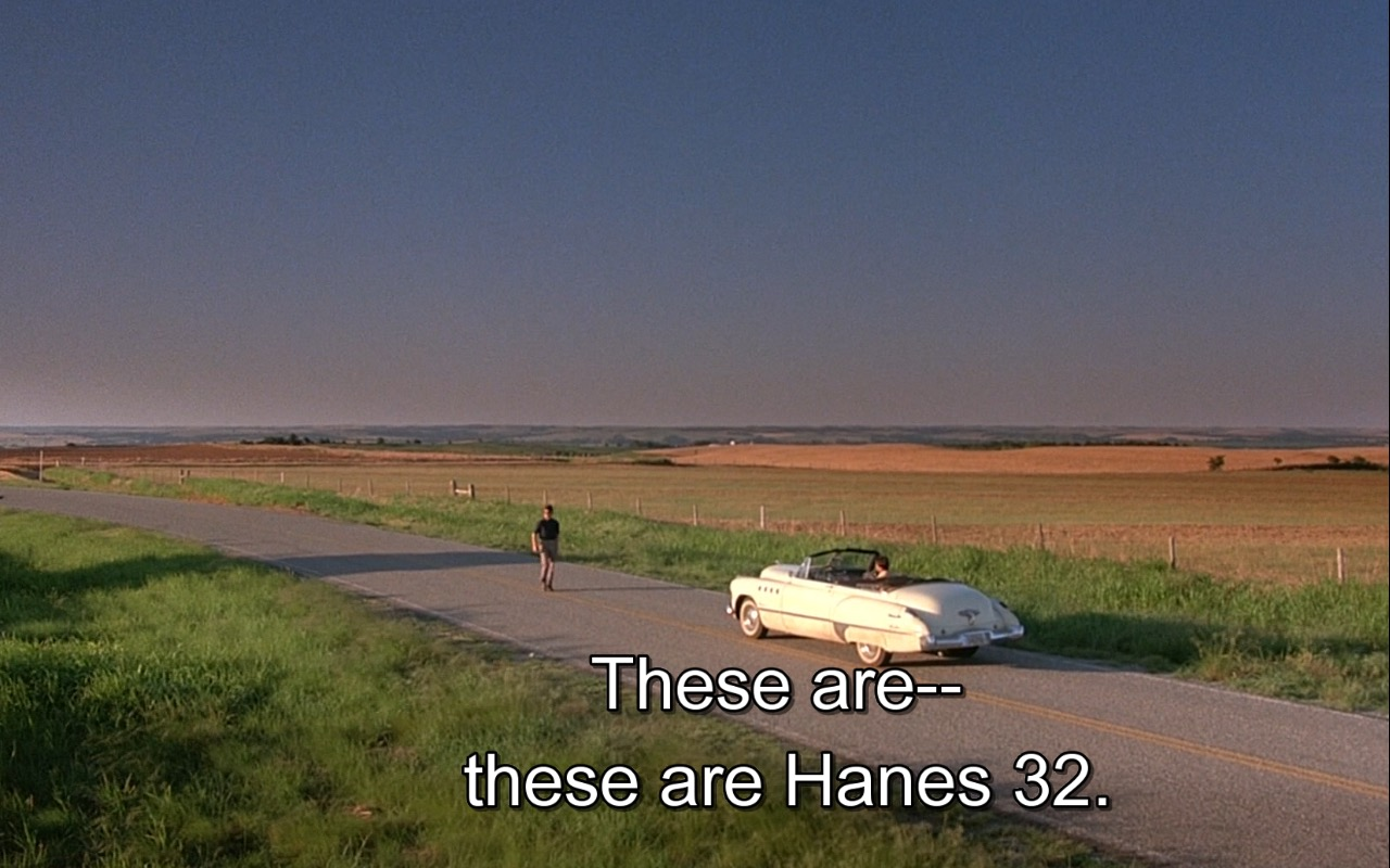Hanes Underwear  – Rain Man (1988) Movie Product Placement