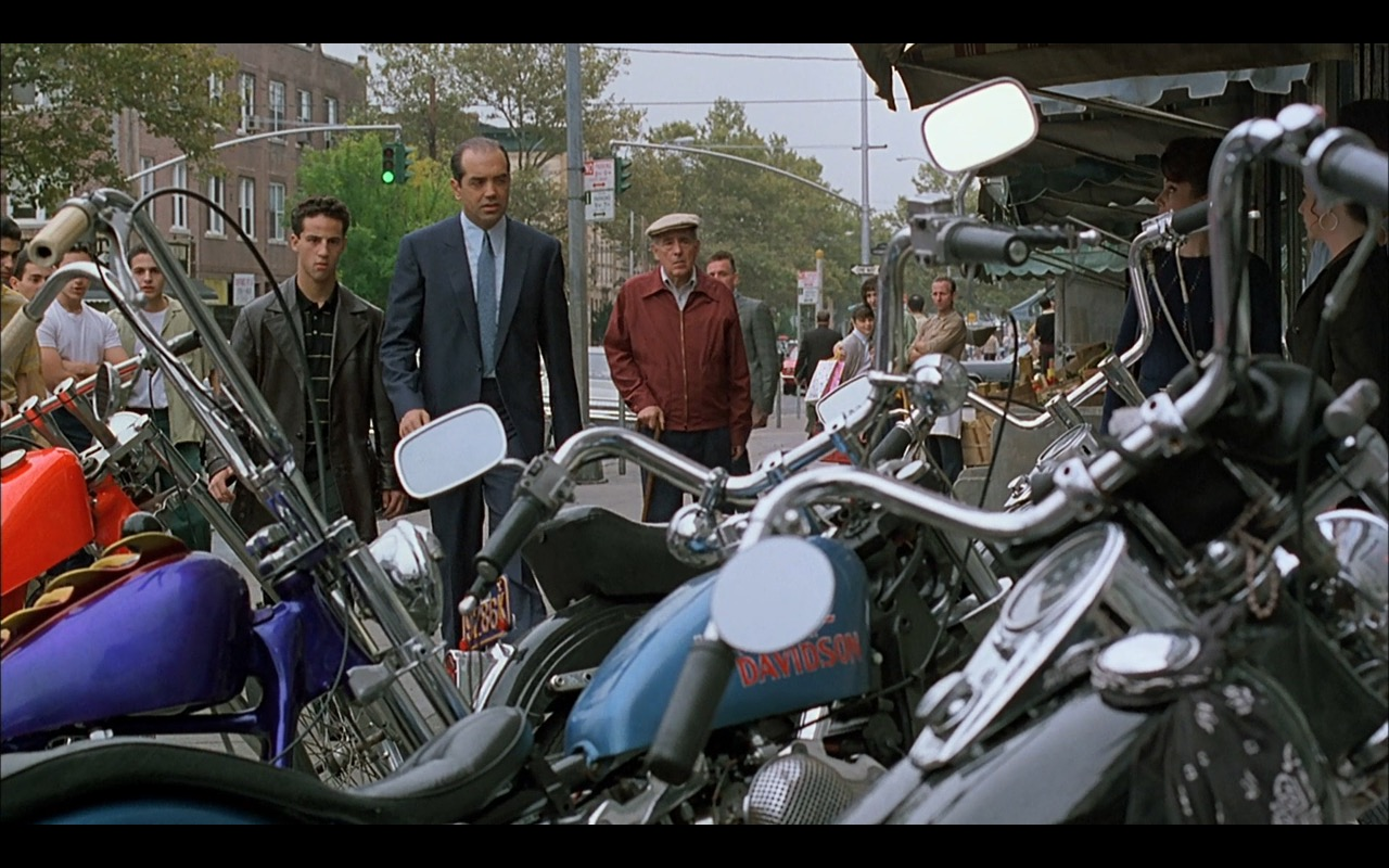 Harley-Davidson Motorcycles - A Bronx Tale (1993) Movie Product Placement