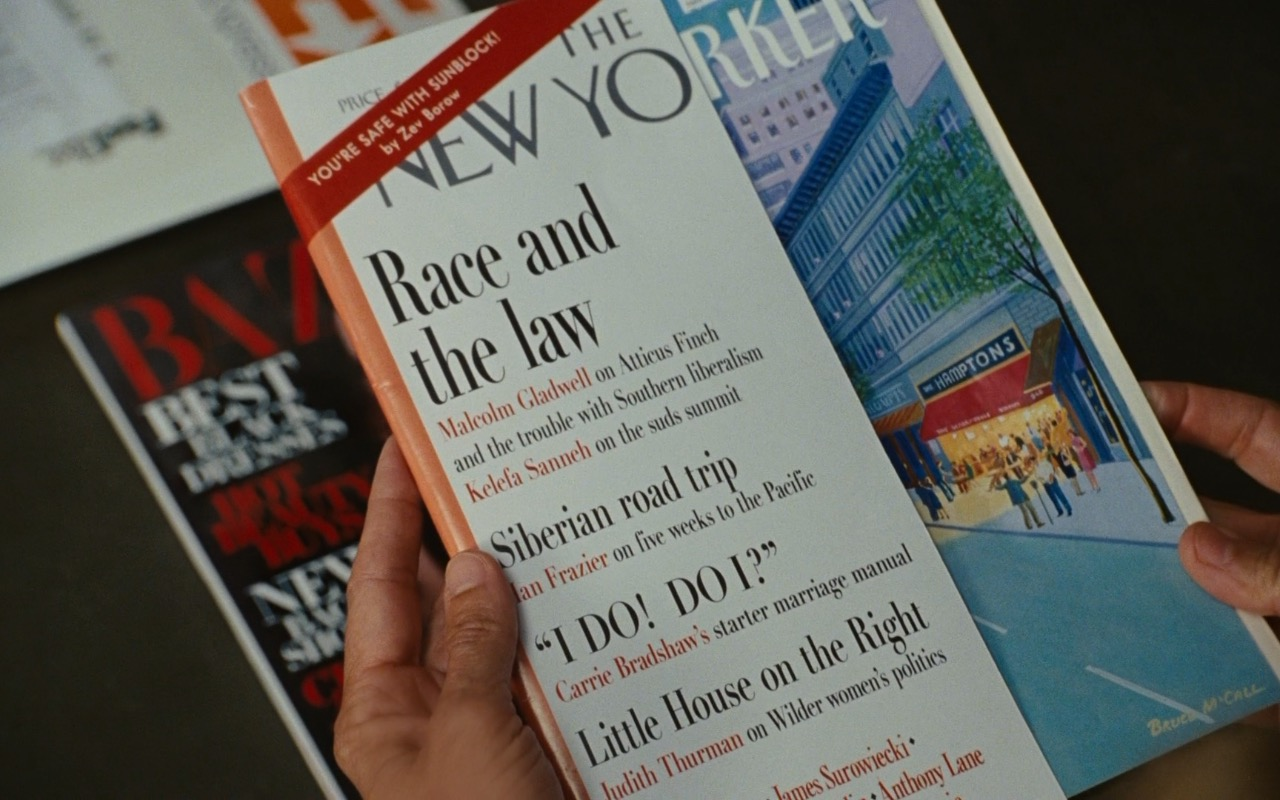 Harper's Bazaar And The New Yorker Magazines - Sex and the City 2 (2010) - Movie Product Placement