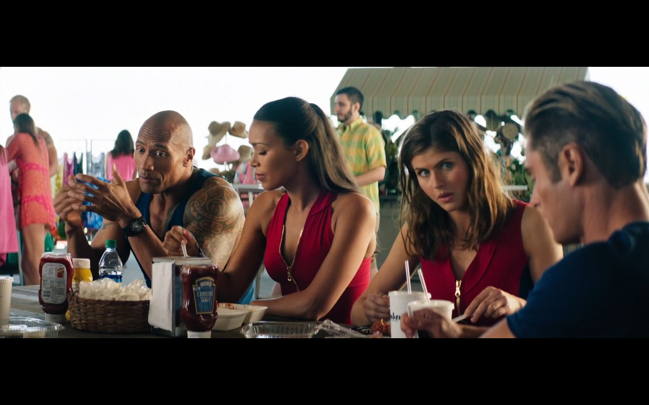 Heinz BBQ Sauce Carolina Vinegar Style Tangy - Baywatch (2017) - Movie Product Placement