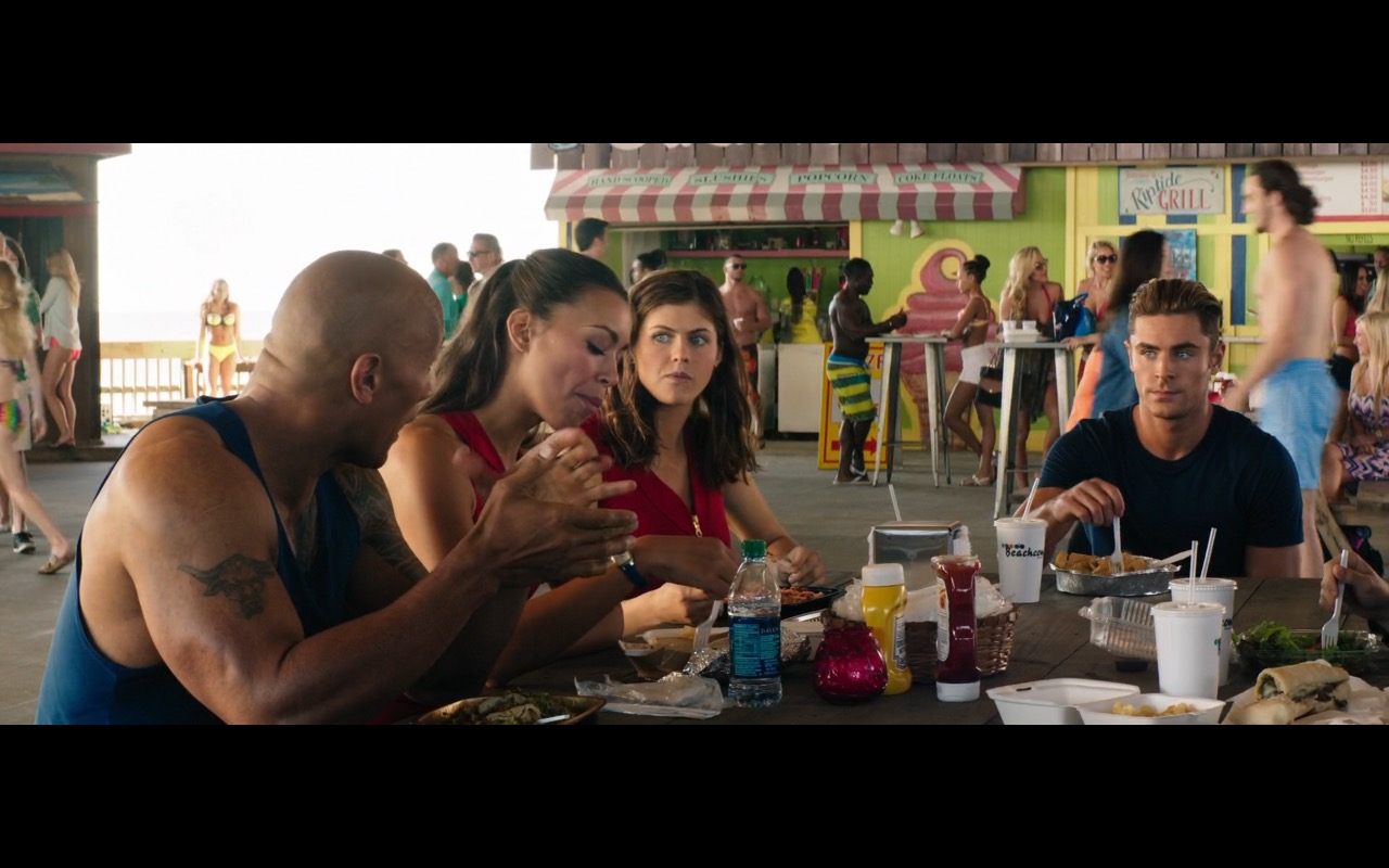 Heinz Ketchup and Heinz Yellow Mustard - Baywatch (2017) Movie Product Placement