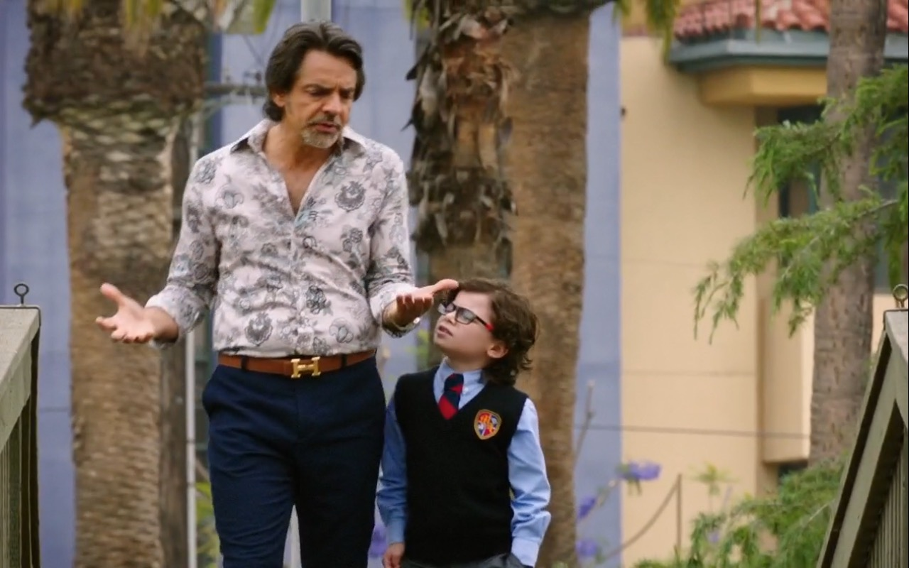 Hermes Belts For Men – How to Be a Latin Lover (2017) Movie Product Placement