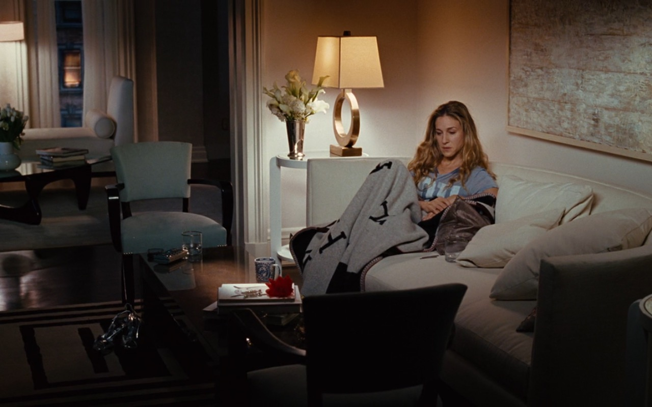 Hermes Blanket – Sex and the City (2008) Movie Product Placement