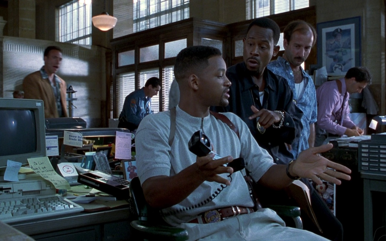 IBM Monitor And Computer – Bad Boys (1995) Movie Product Placement