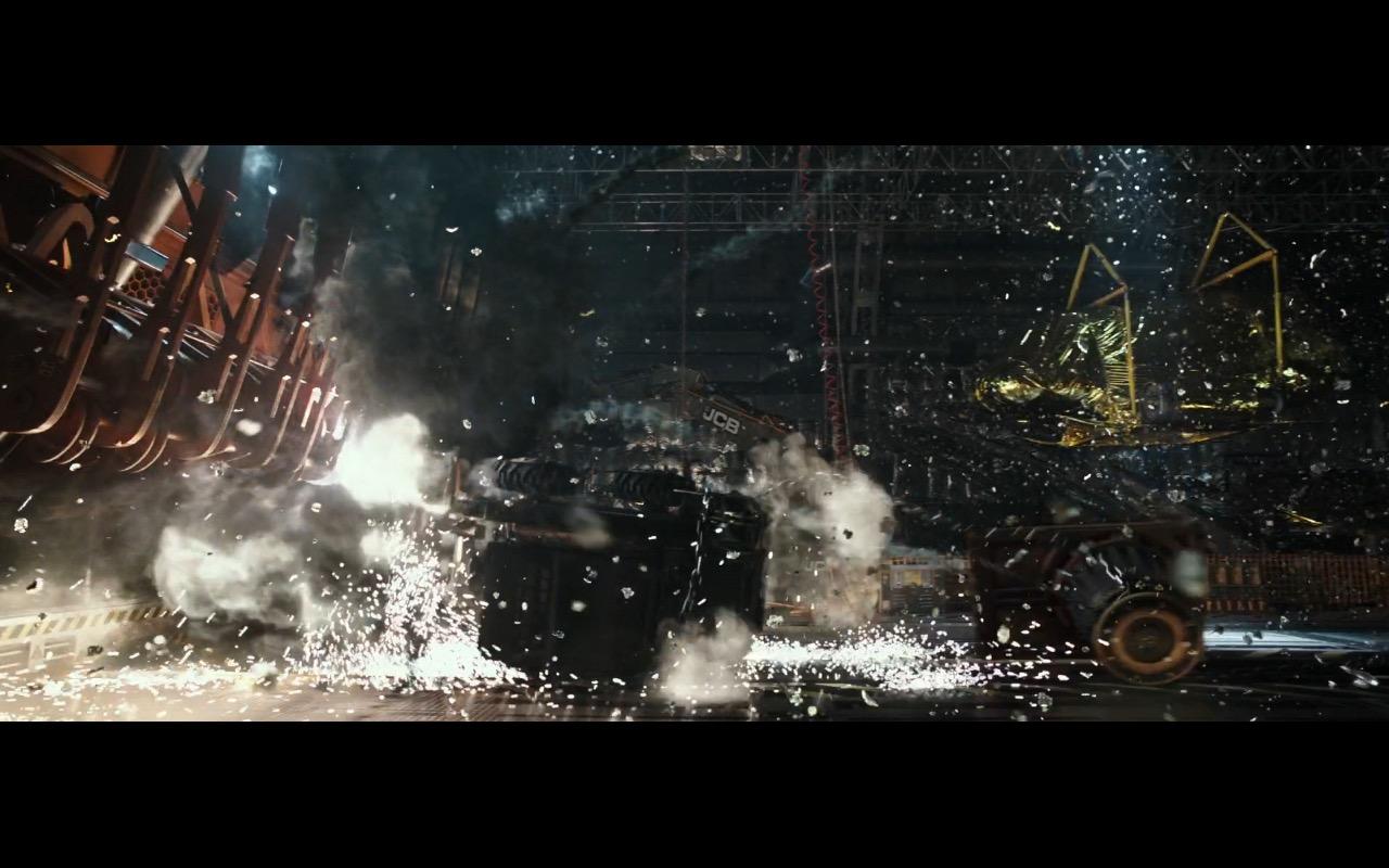 JCB Machines - Alien: Covenant (2017) Movie Product Placement