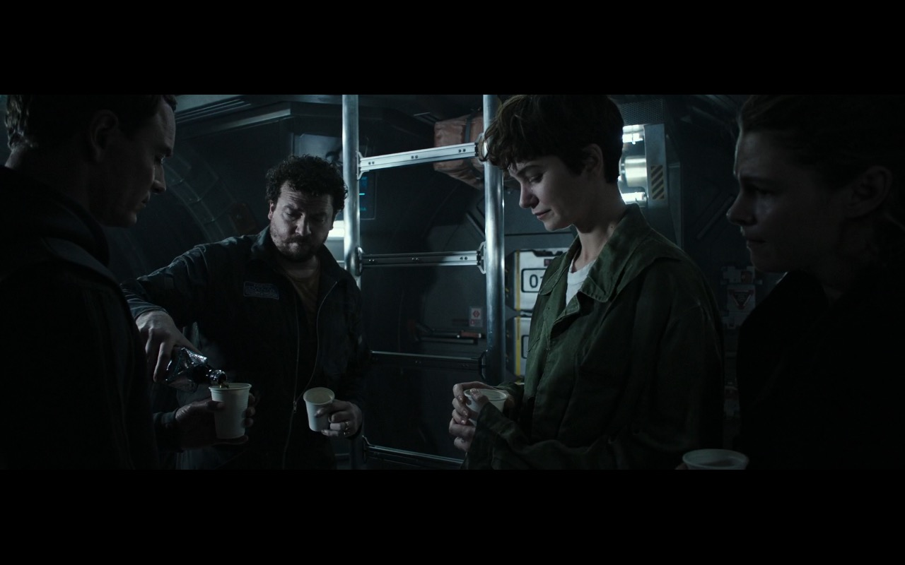 Jack Daniel's Whiskey - Alien: Covenant (2017) Movie Product Placement