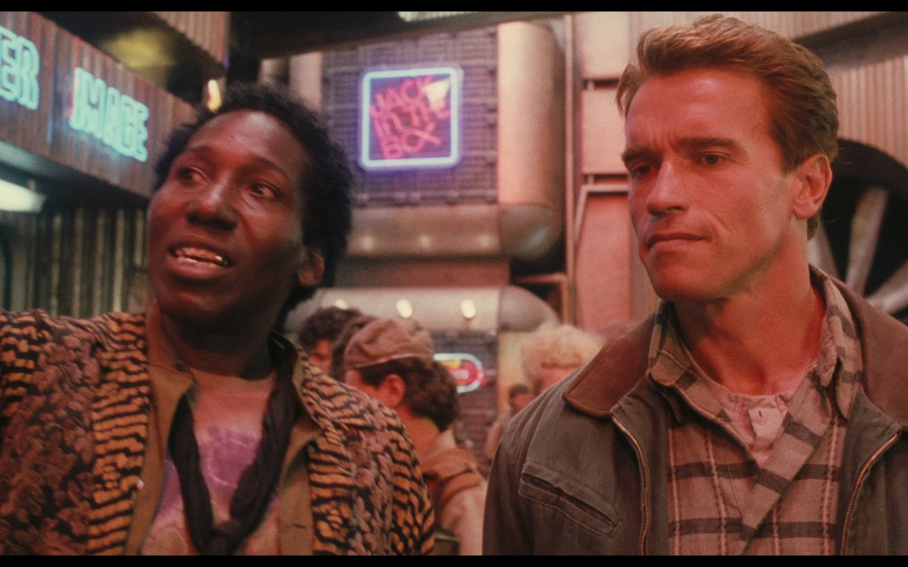 Jack In The Box Total Recall 1990
