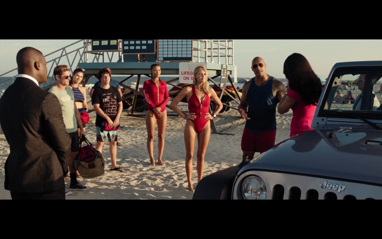 Jeep Wrangler Rubicon - Baywatch (2017) Movie Product Placement