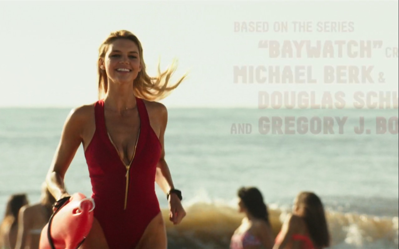 Kelly Rohrbach and Under Armour - Baywatch (2017) Movie Product Placement