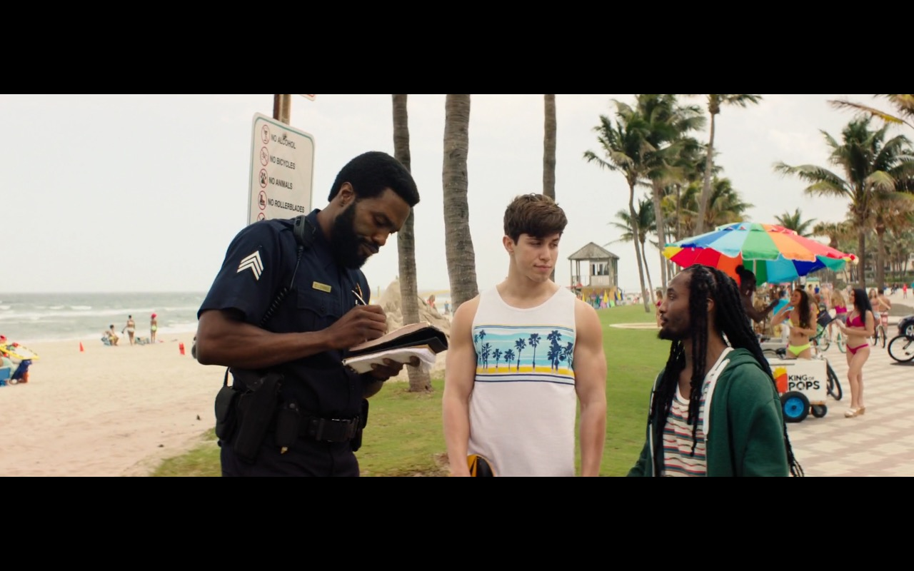 King of Pops Ice Cream - Baywatch (2017) Movie Product Placement
