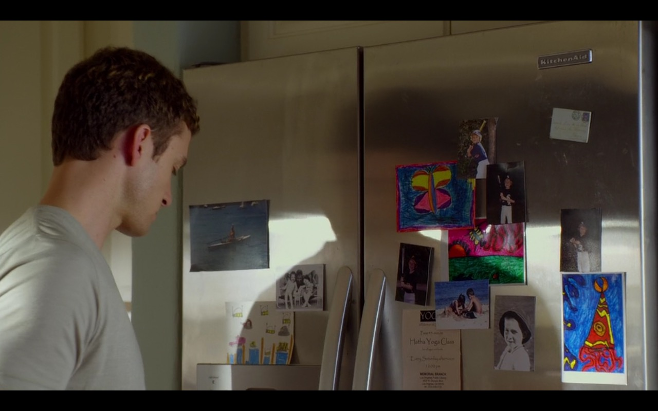 KitchenAid Refrigerator - Friends with Benefits (2011) - Movie Product Placement