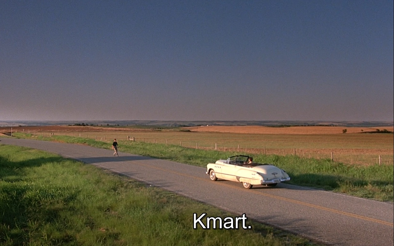 Kmart – Rain Man (1988) Movie Product Placement
