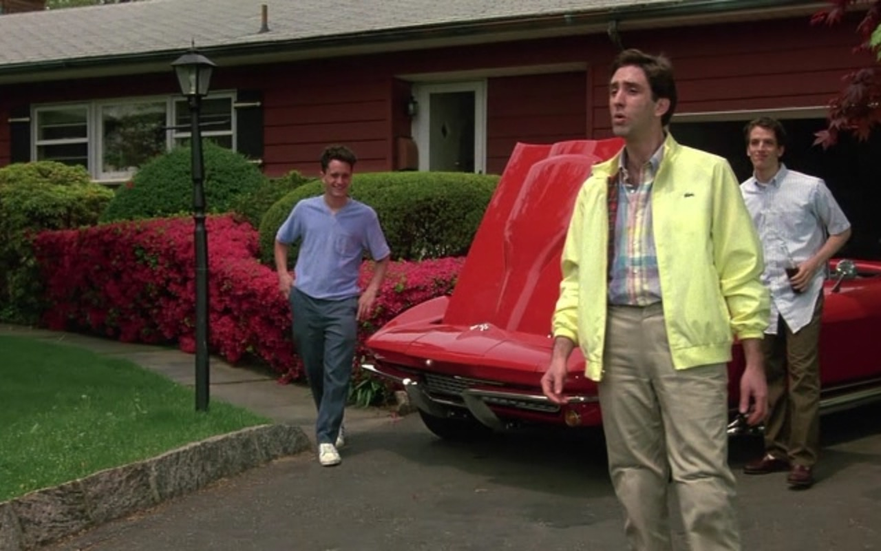 Lacoste Men's Yellow Jacket – Goodfellas (1990) Movie Product Placement