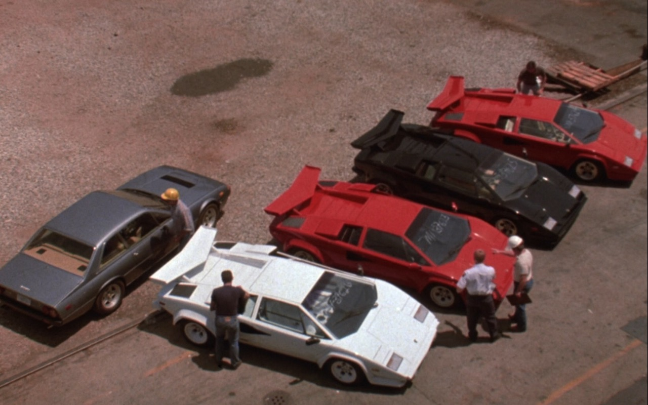 Lamborghini Countach Cars – Rain Man (1988) - Movie Product Placement