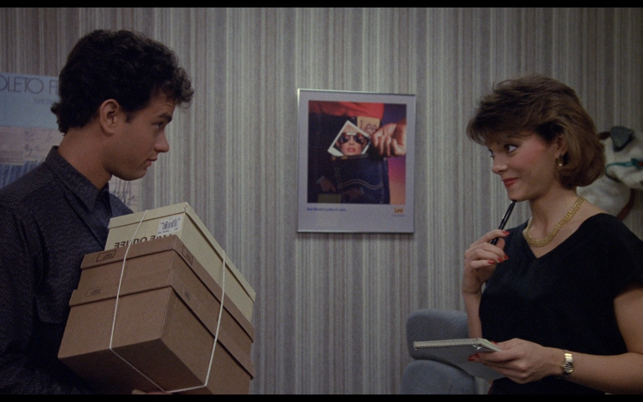 Lee Poster – Nothing in Common (1986) Movie Product Placement