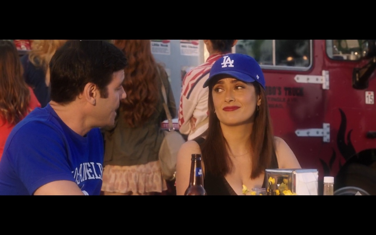 Los Angeles Dodgers Clothing And Caps – How to Be a Latin Lover (2017) Movie Product Placement