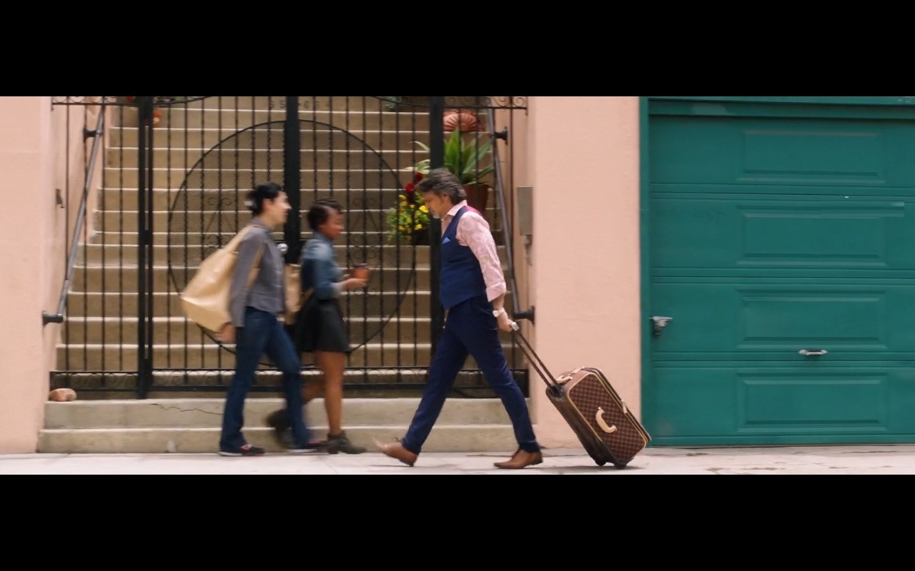 Louis Vuitton Suitcase - How to Be a Latin Lover (2017) Movie Product Placement
