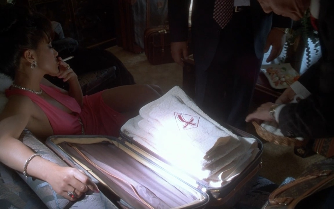 Louis Vuitton Suitcases and Bags - Casino (1995) Movie Product Placement