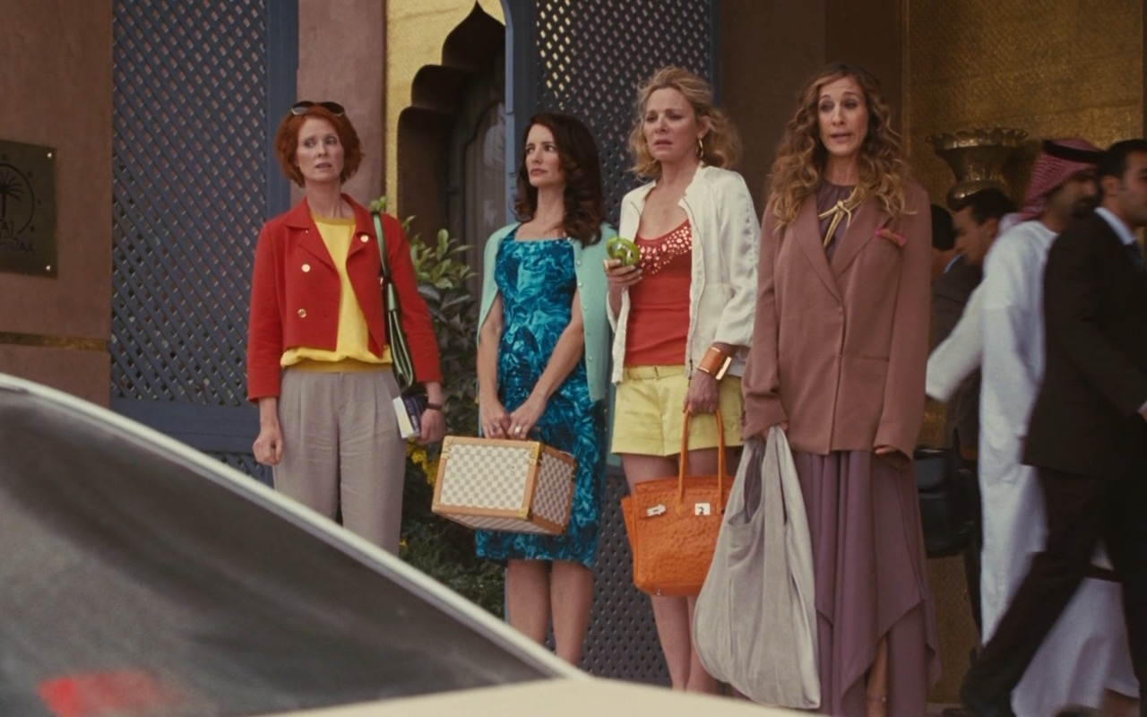 Louis Vuitton and Hermes Bags – Sex and the City 2 (2010) Movie Product Placement
