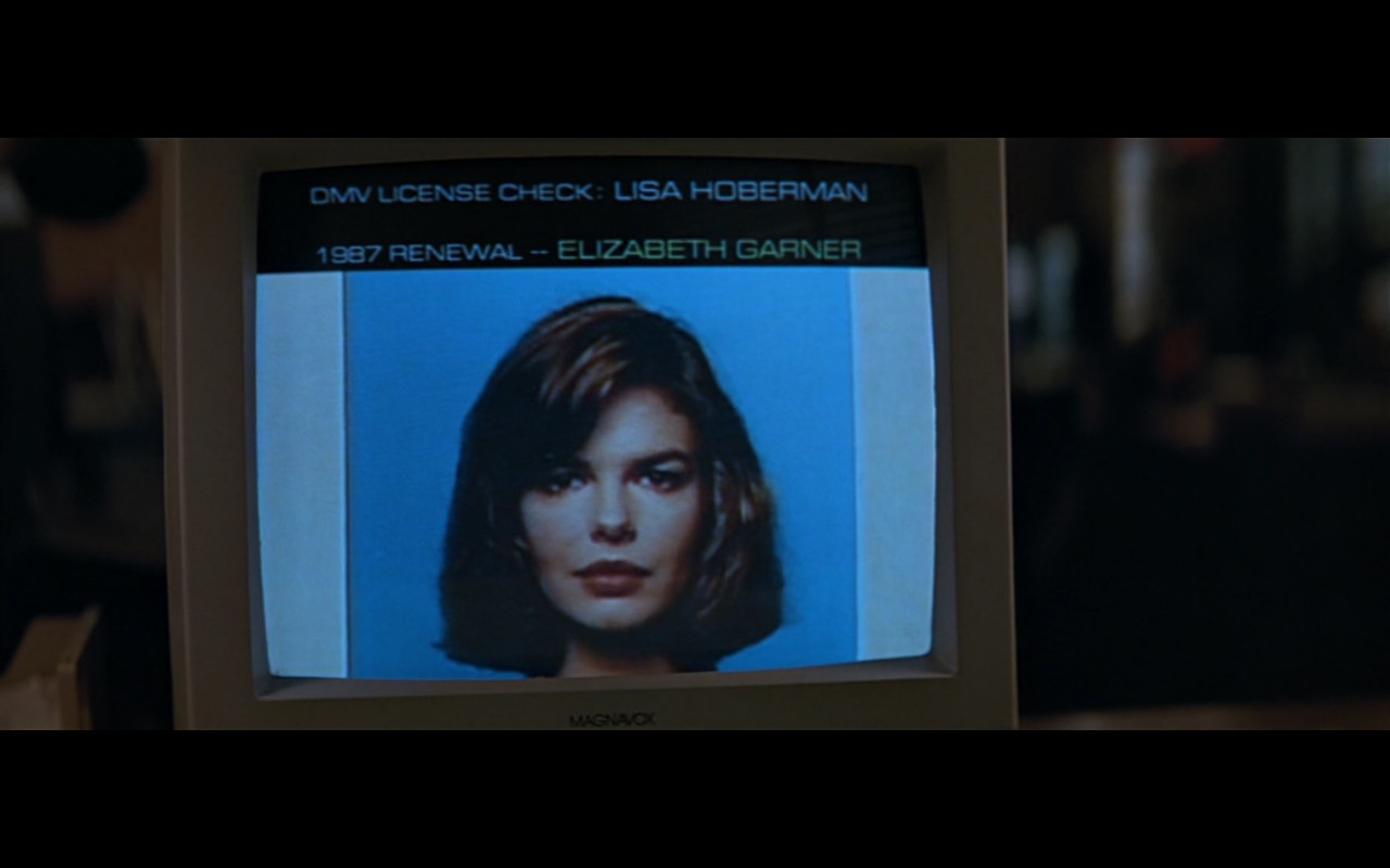 Magnavox Monitor - Basic Instinct (1992) Movie Product Placement
