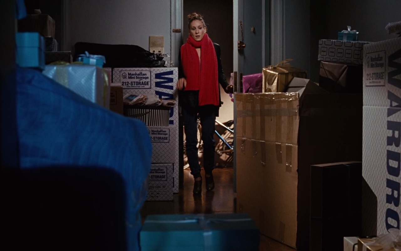 Manhattan Mini Storage Boxes – Sex and the City (2008) Movie Product Placement