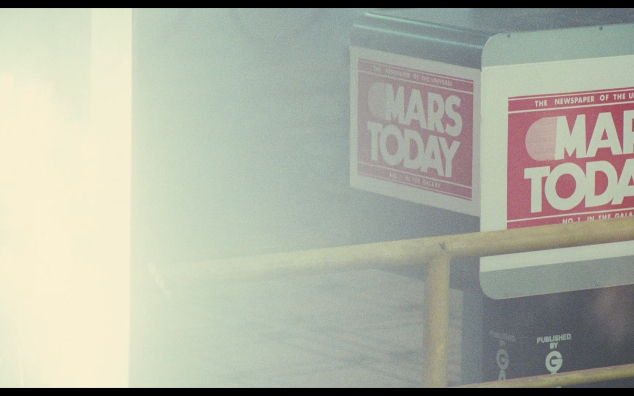 Mars Today (USA Today) – Total Recall (1990) Movie Product Placement