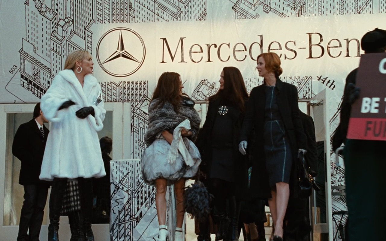 Mercedes-Benz Fashion Week – Sex and the City (2008) Movie Product Placement