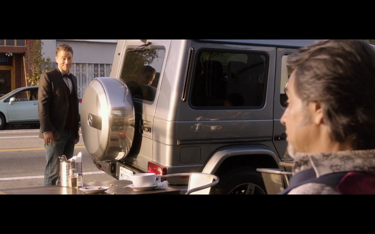 Mercedes-Benz G-Class Car - How to Be a Latin Lover (2017) Movie Product Placement