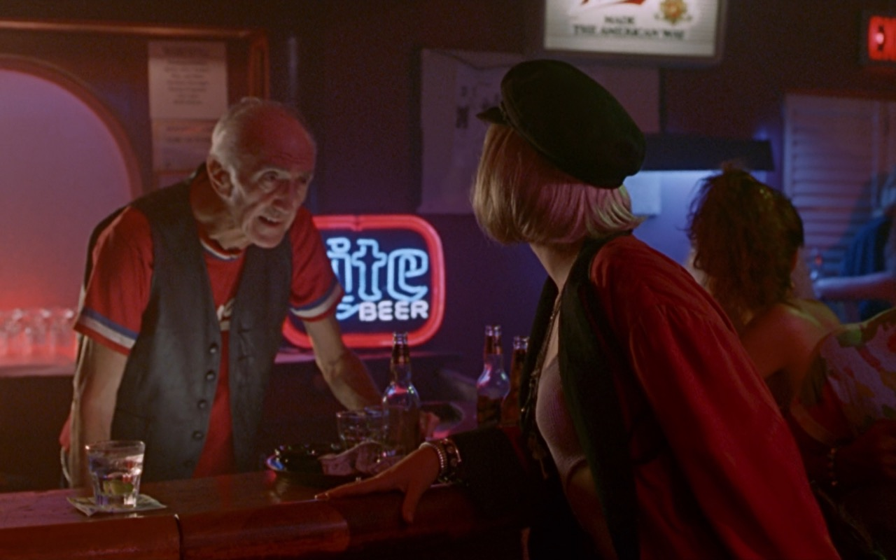 Miller Lite Beer Neon Sign – Pretty Woman (1990) Movie Product Placement