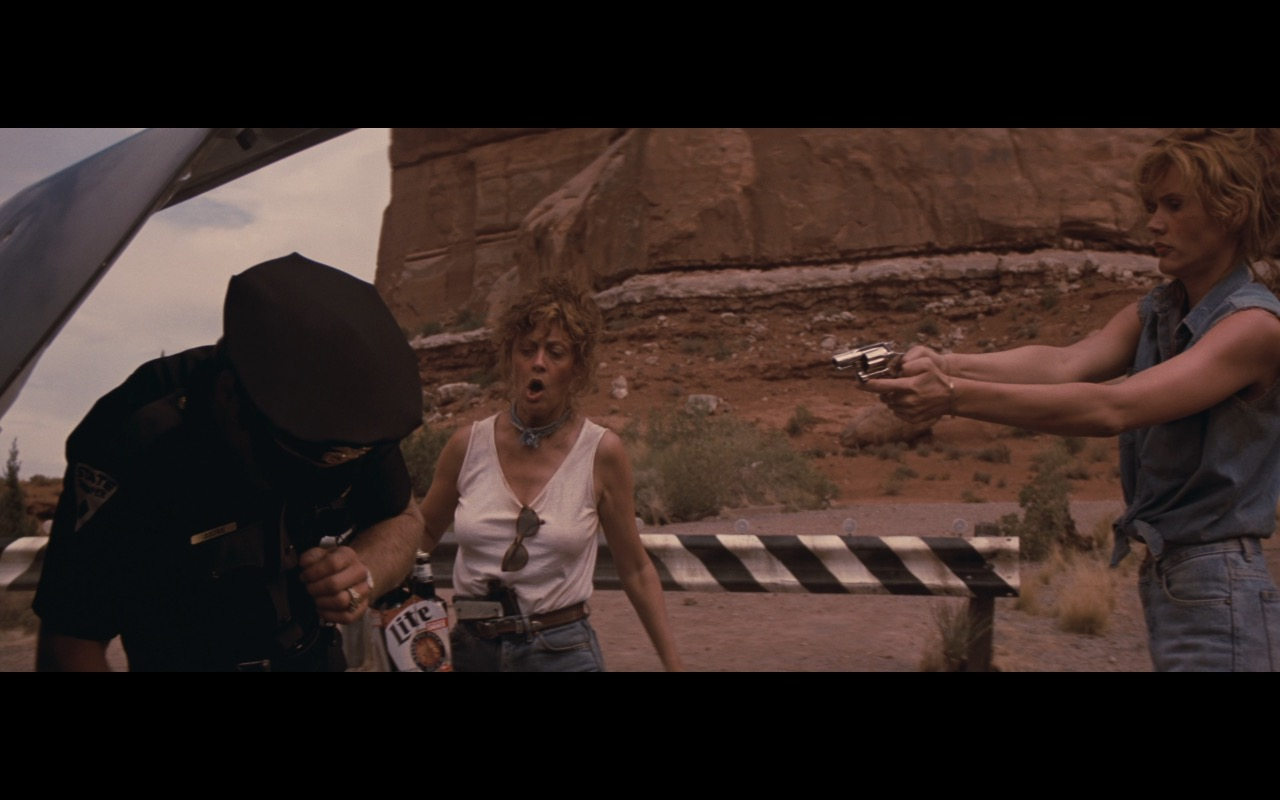 Miller Lite Beer - Thelma & Louise (1991) Movie Product Placement