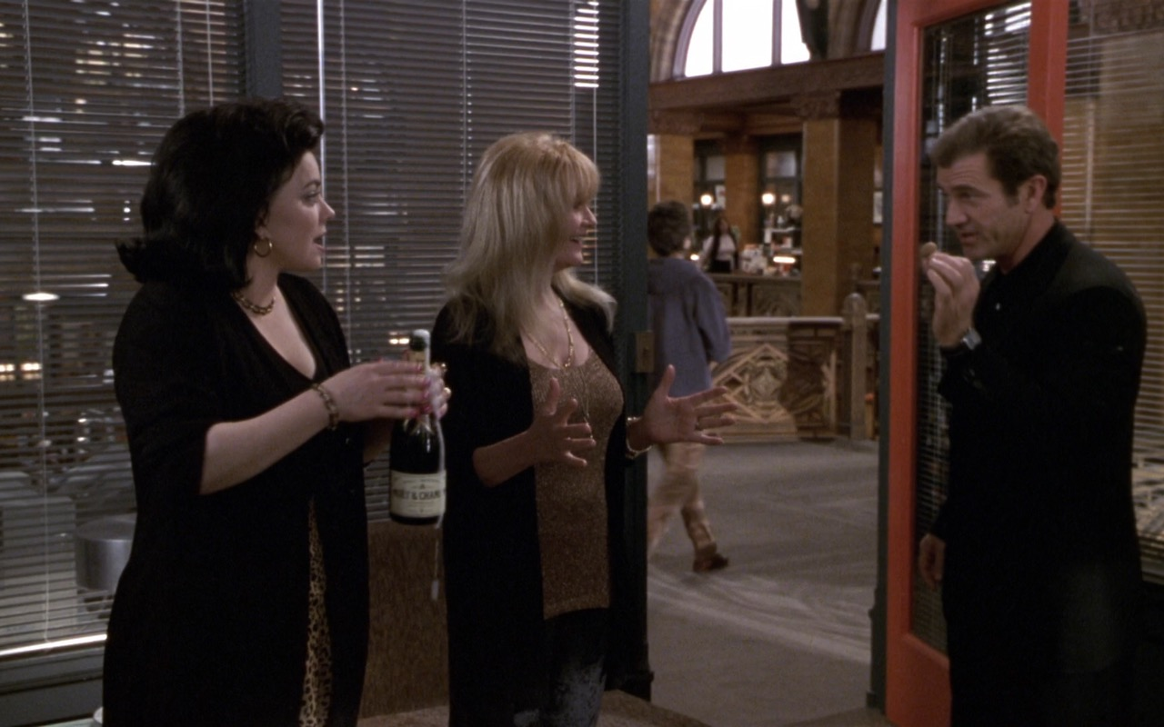 Moët & Chandon Champagne – What Women Want (2000) Movie Product Placement
