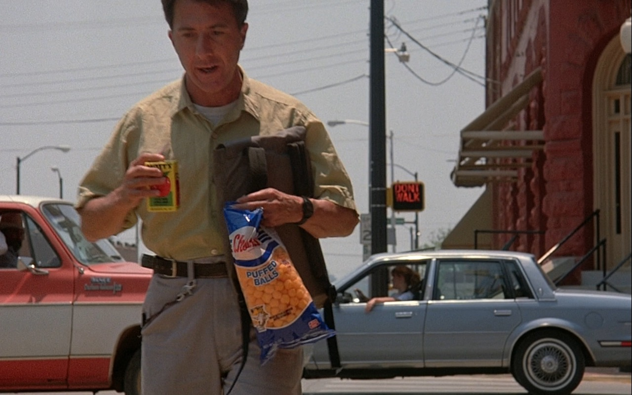 Mott's Juice and Cheetos – Rain Man (1988) Movie Product Placement