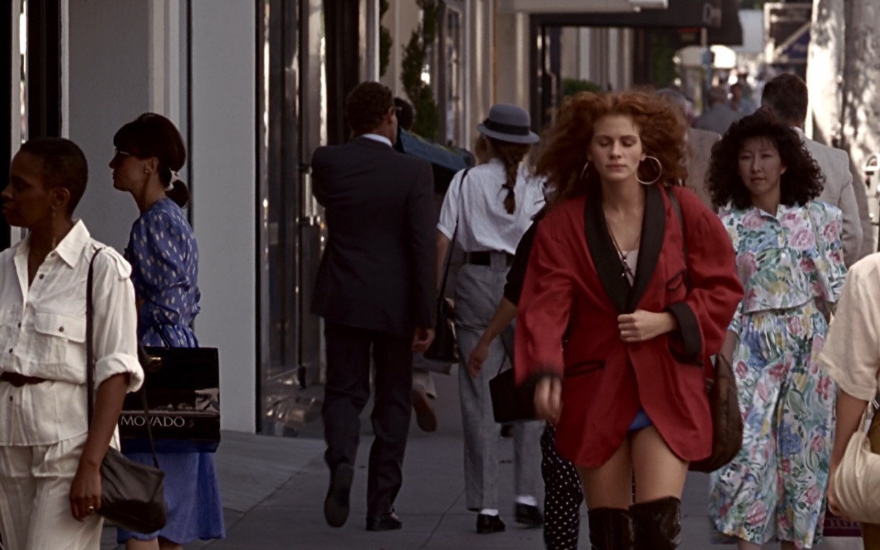 Movado Paper Bags – Pretty Woman (1990) Movie Product Placement