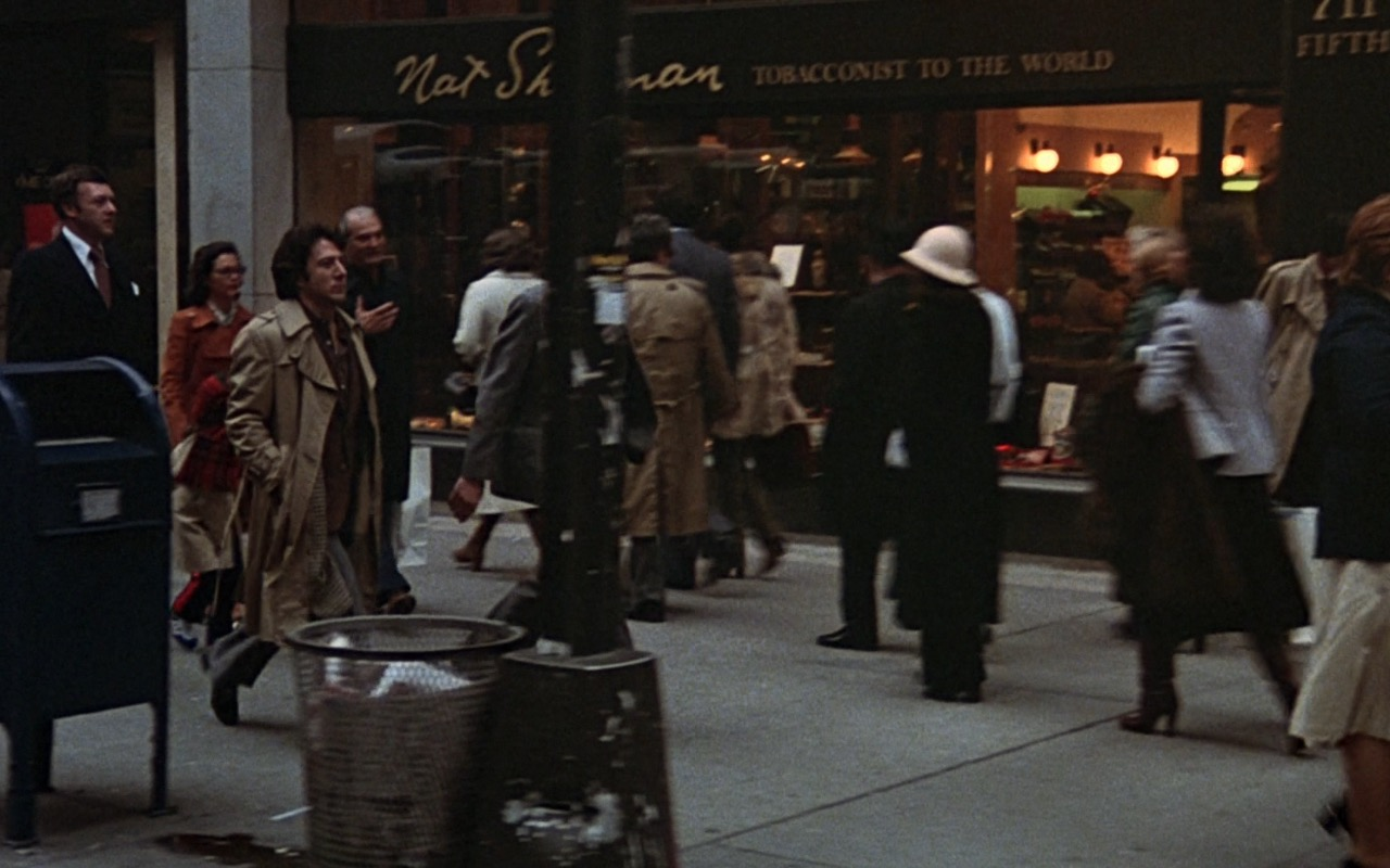 Nat Sherman flagship retail shop – Kramer vs. Kramer (1979) Movie Product Placement
