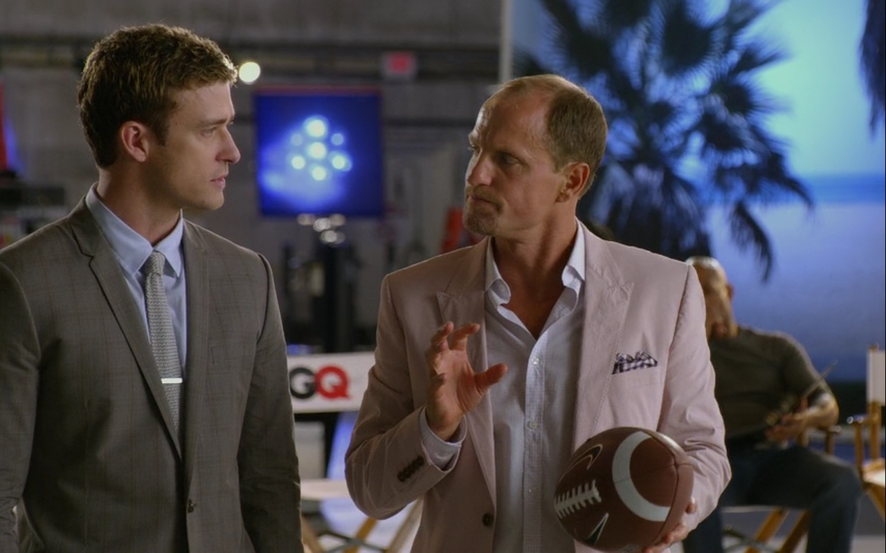 GQ and Nike American Football Ball – Friends with Benefits (2011) Movie Product Placement