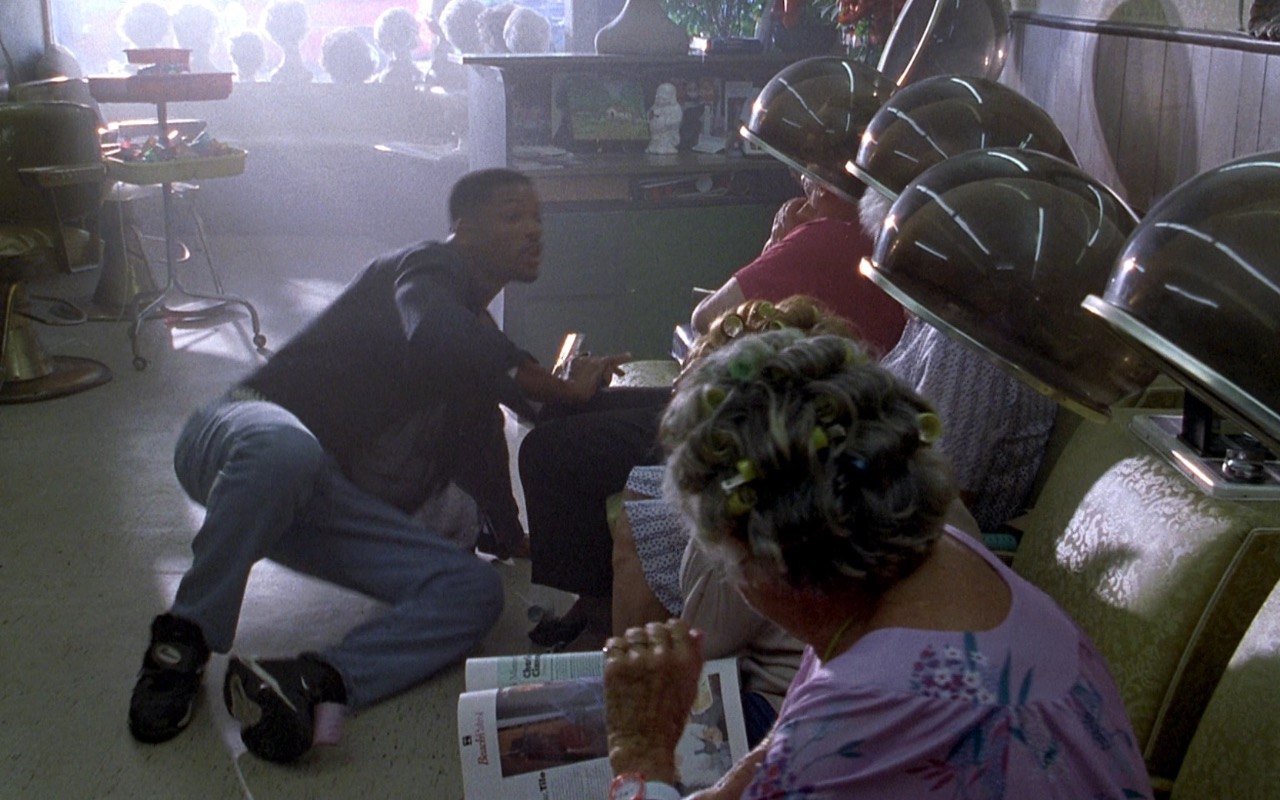 Nike Men's Black Sneakers – Bad Boys (1995) Movie Product Placement