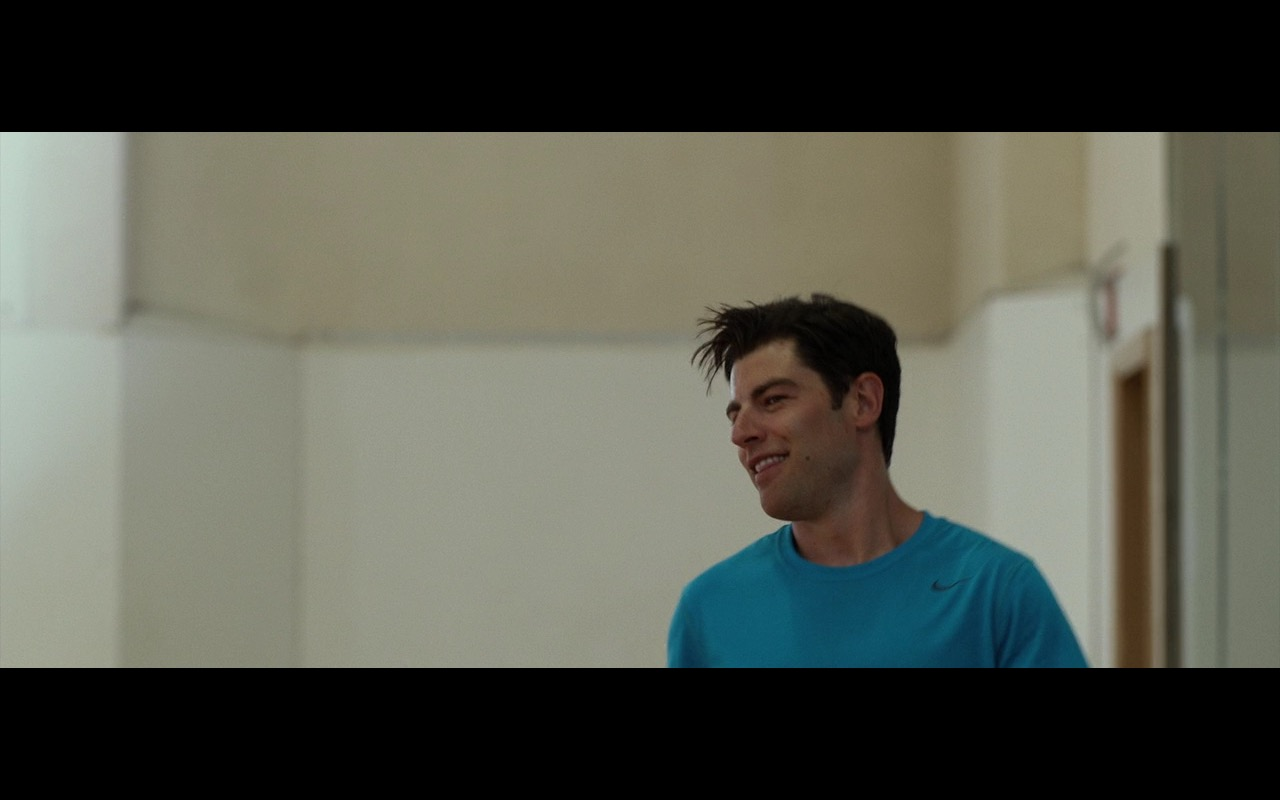 Nike Men's Blue T-Shirt - Shot Caller (2017) - Movie Product Placement