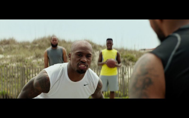 Nike Men's White T-Shirt – Baywatch (2017)