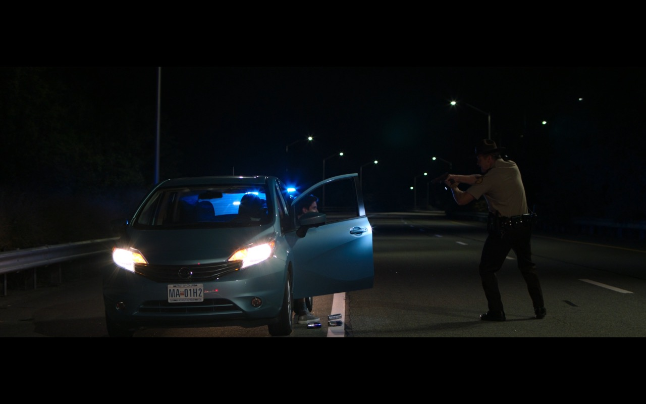 Nissan Versa Car - Rough Night (2017) Movie Product Placement