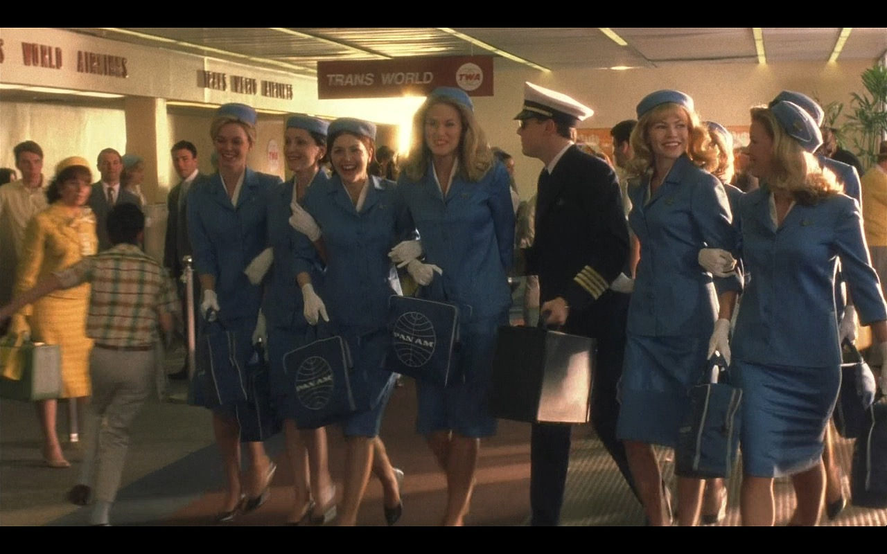 Pan American World Airways – Catch Me If You Can (2002) Movie Product Placement