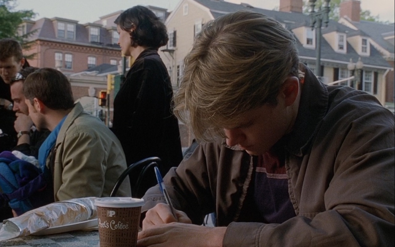 Peet's Coffee & Tea – Good Will Hunting (1997) Movie Product Placement