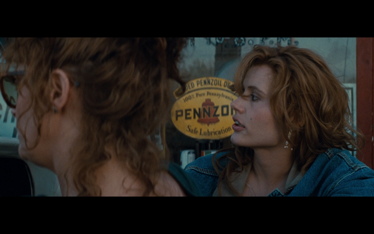 Pennzoil Sticker – Thelma & Louise (1991) Movie Product Placement