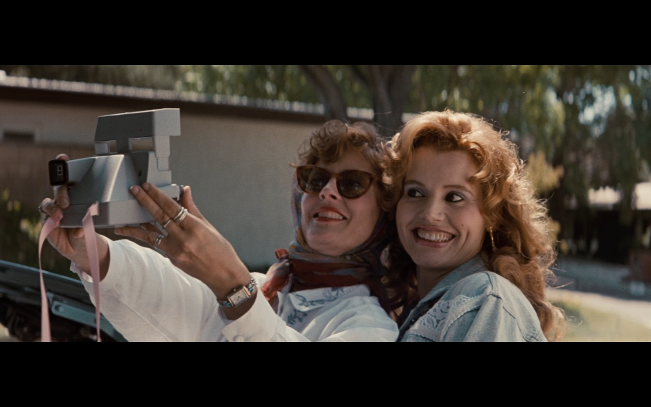 Polaroid Photo Camera – Thelma & Louise (1991) Movie Product Placement