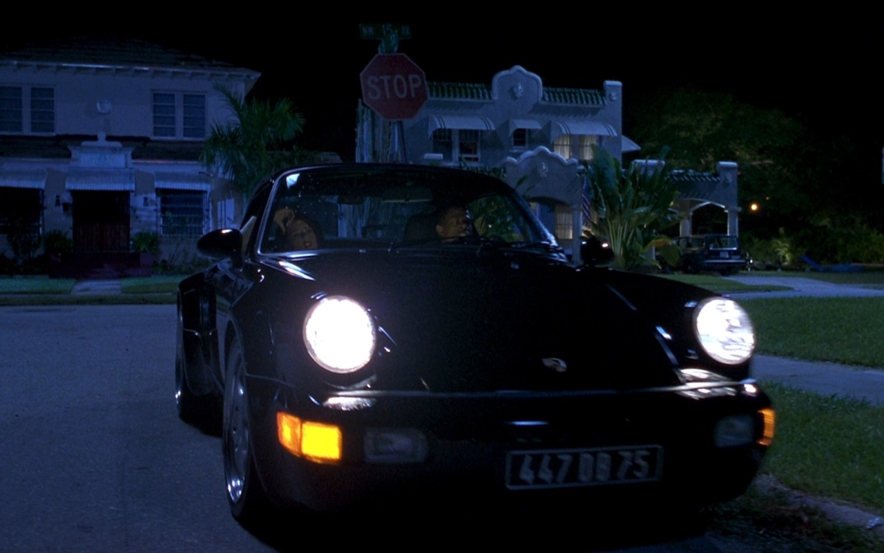 Porsche 911 Turbo Car – Bad Boys (1995) - Movie Product Placement