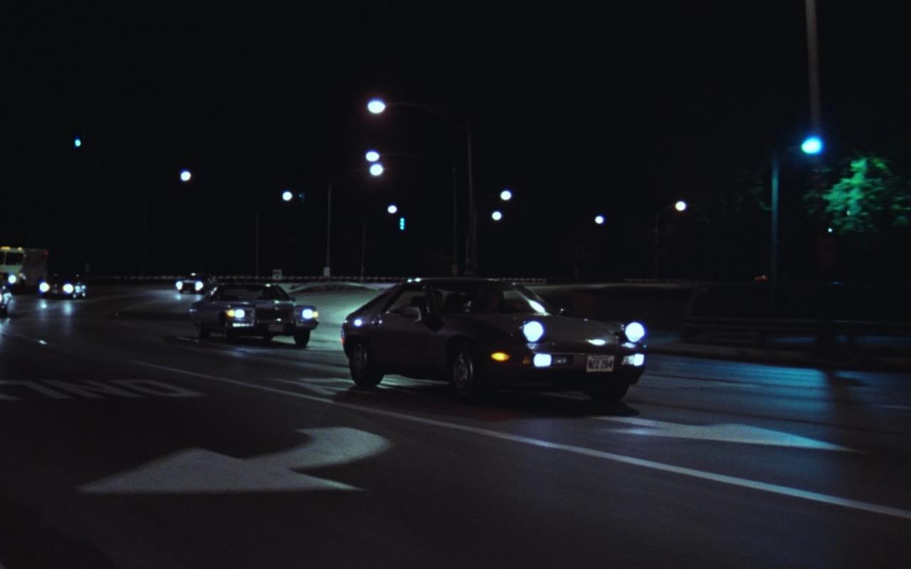 Porsche 928 Car - Risky Business (1983) Movie Product Placement