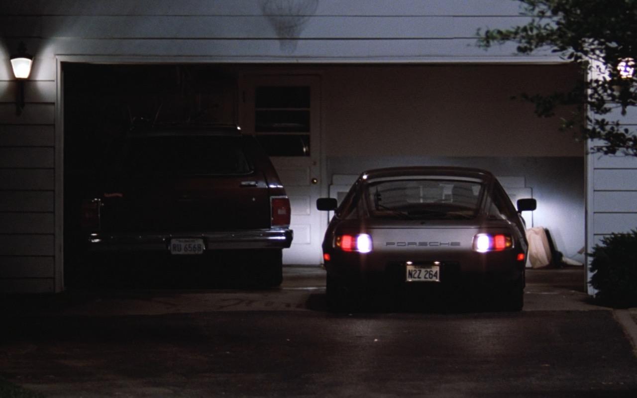 Porsche 928 Car Risky Business 1983 Movie