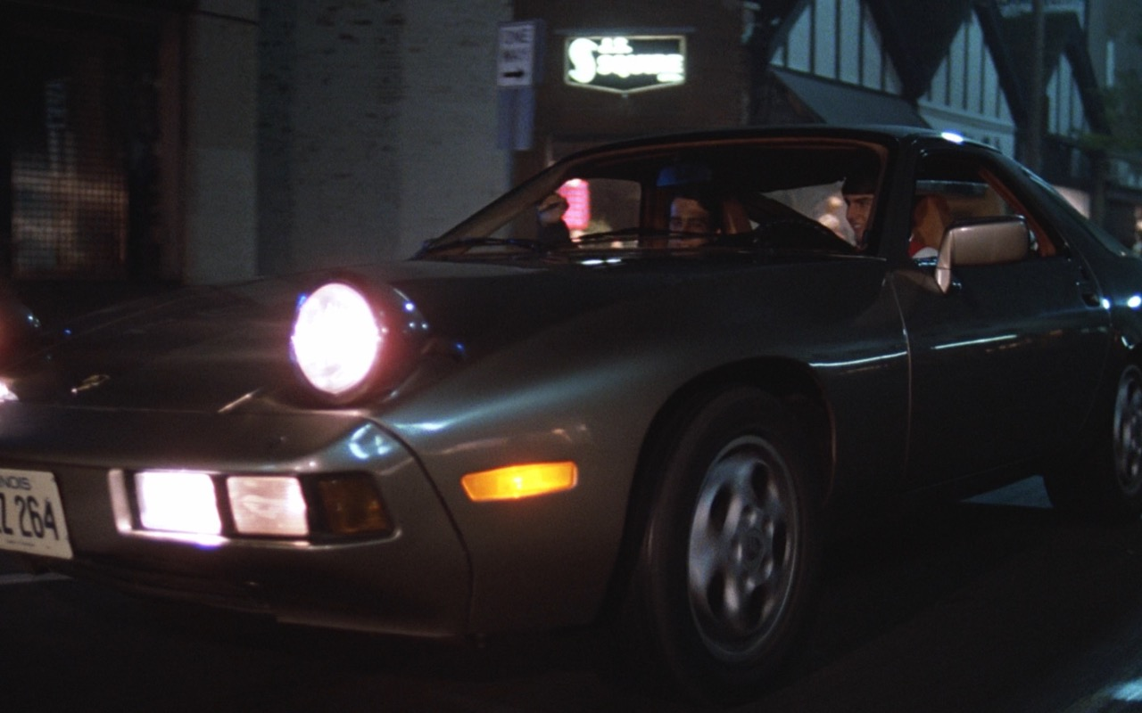 Porsche 928 Car Risky Business 1983 Movie
