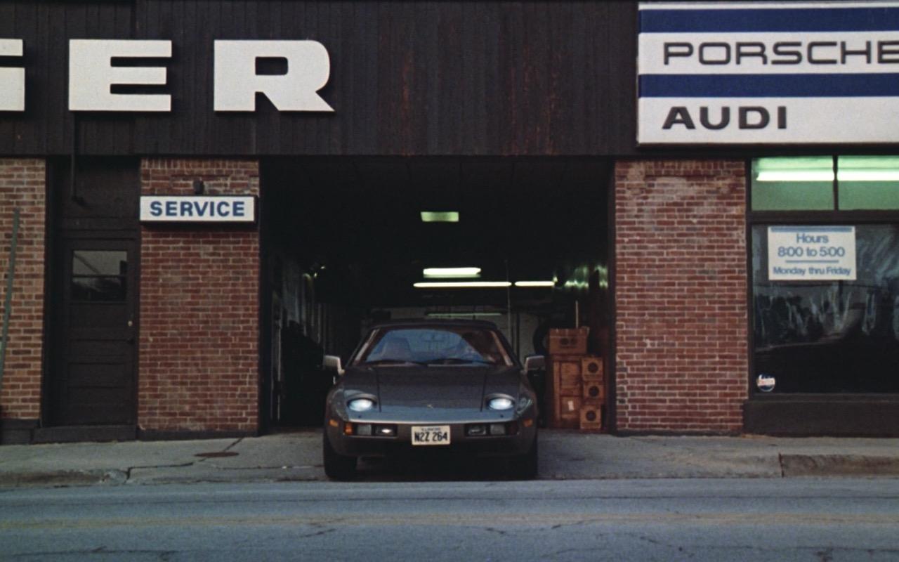 Porsche & Audi – Risky Business (1983) Movie Product Placement