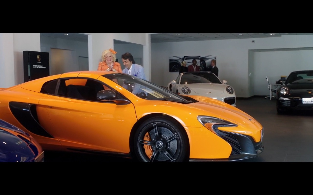 Porsche and McLaren Cars - How to Be a Latin Lover (2017) Movie Product Placement